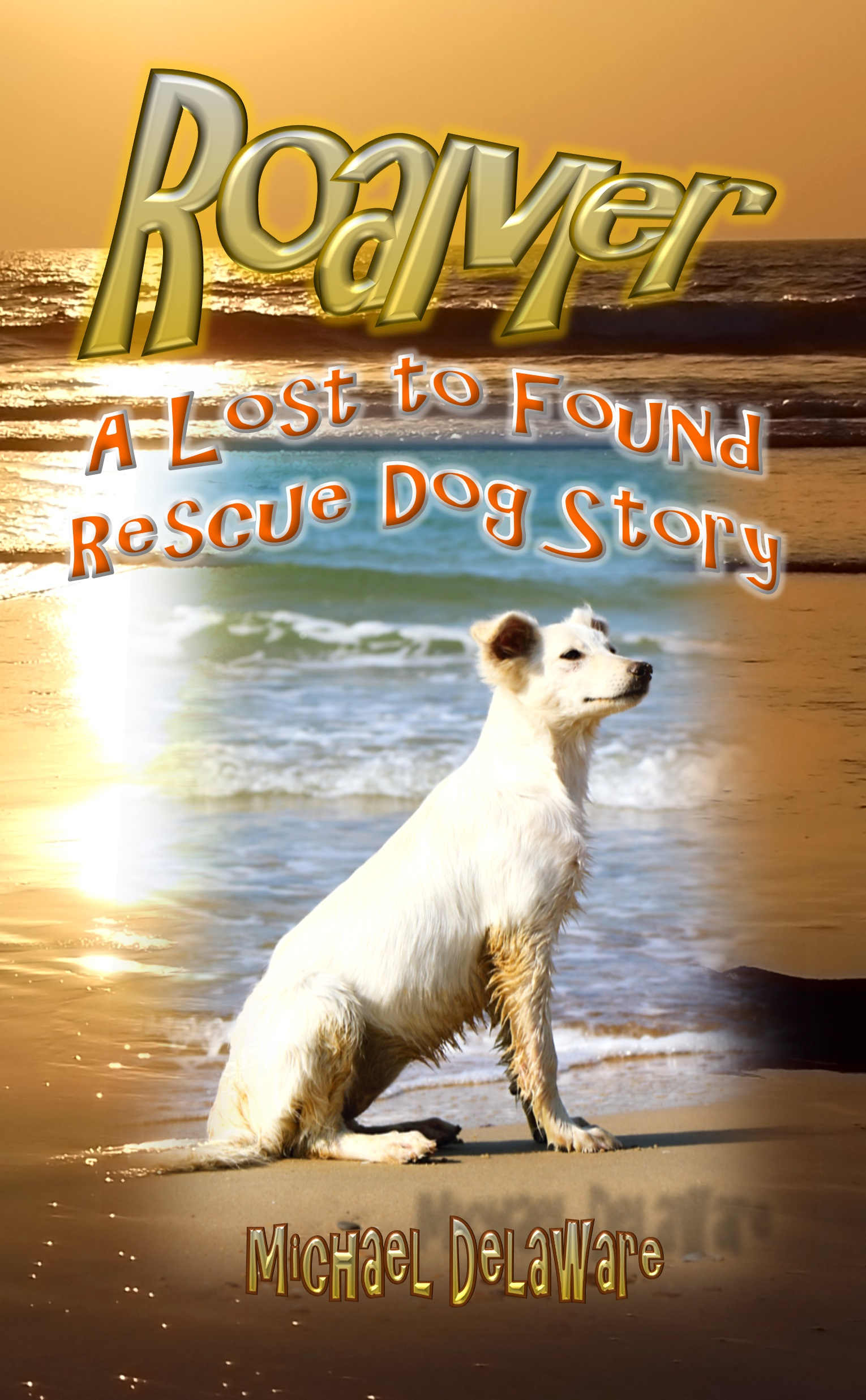 Roamer: A Lost to Found Rescue Dog Story by Michael Delaware